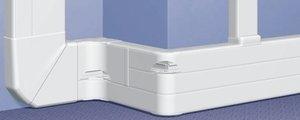 Профиль кабель-канал 65x220 - 2 или 3 секции - длина 2 метра. Цвет Белый. Legrand DLP (Легранд ДЛП). 010459