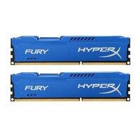 Память оперативная DDR3 2x4Gb Kingston 1333MHz HX313C9FK2/8 CL9 DIMM (Kit of 2) HyperX FURY Blue Series