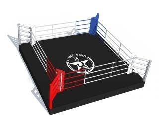 Боксерский ринг LONE STAR на низком помосте
