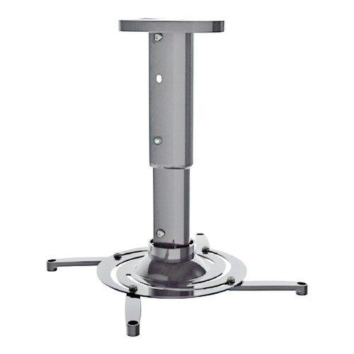 Кронштейн для проектора Cactus CS-VM-PR05M-AL серебристый макс.24кг потолочный поворот и наклон