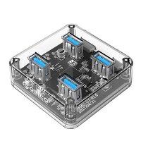 USB хаб ORICO MH4U-U3 (прозрачный)