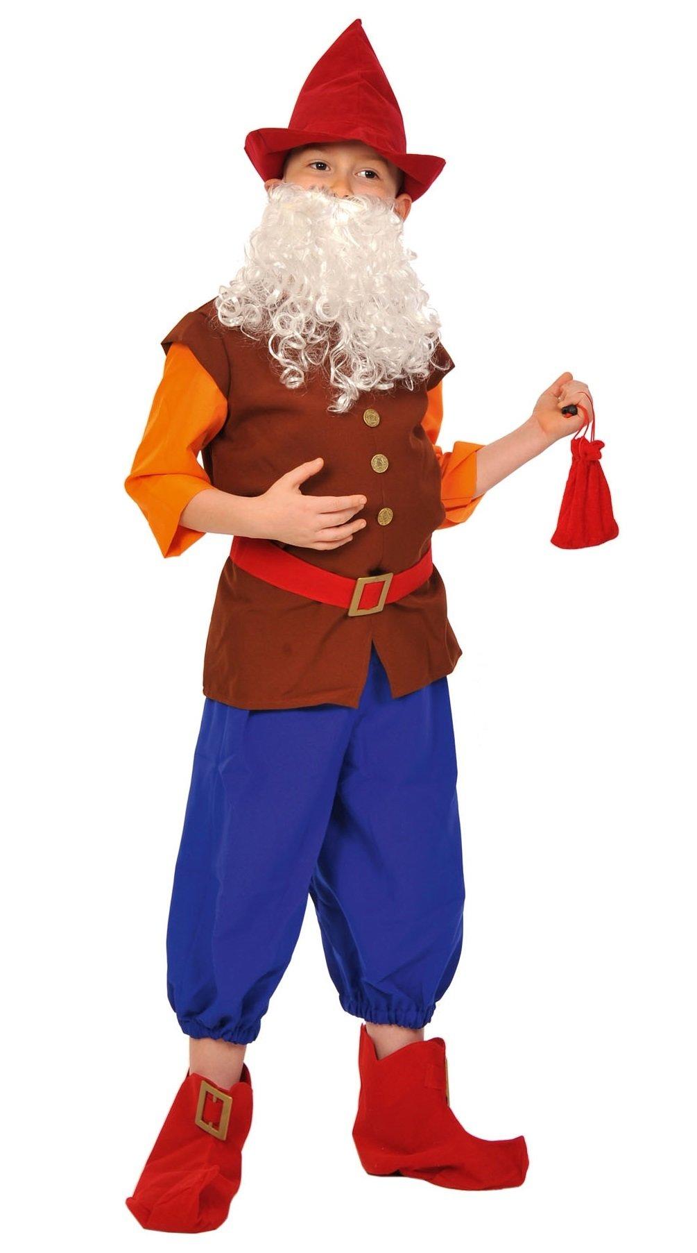 85f85a7ea05 Карнавальный костюм для детей Карнавалофф Гном Весельчак детский