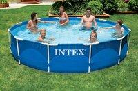 Каркасный бассейн Intex 28210NP Metal Frame Pool (366 х 76 см)