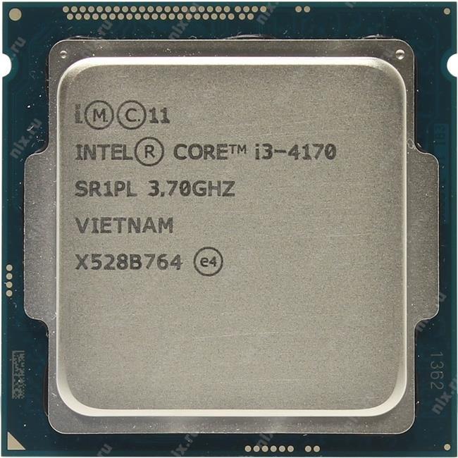 Процессор INTEL Core i3 4-го поколения Core i3-4170 Processor