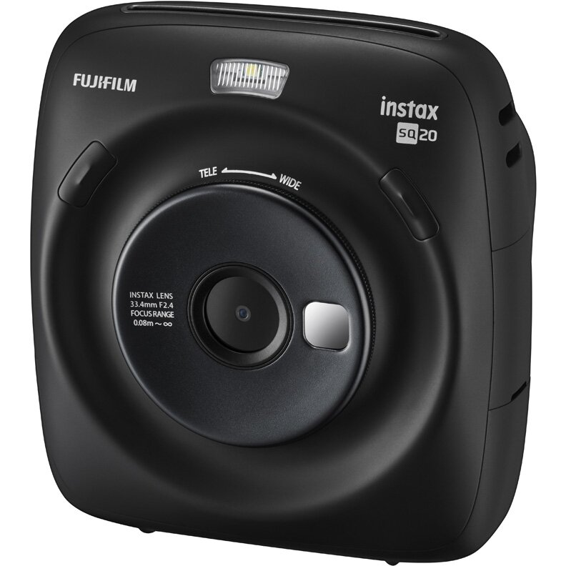 Фотокамера моментальной печати FUJIFILM Instax SQUARE SQ20 Black
