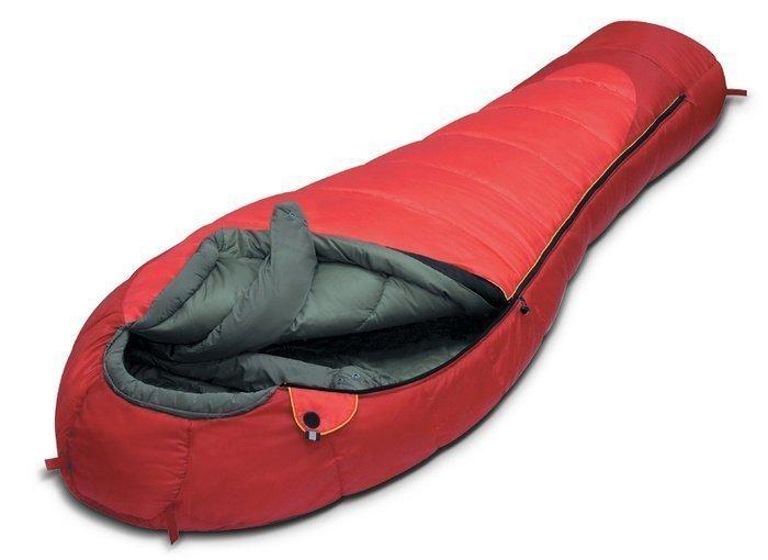 Спальный мешок Alexika Iceland Красный (Левый)