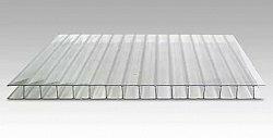 Поликарбонат сотовый Berolux Прозрачный 6мм
