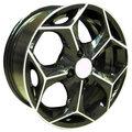 Колесные диски Nitro Y741 6x14/4x98 D58,6 ET35 (BFP) - фото 1