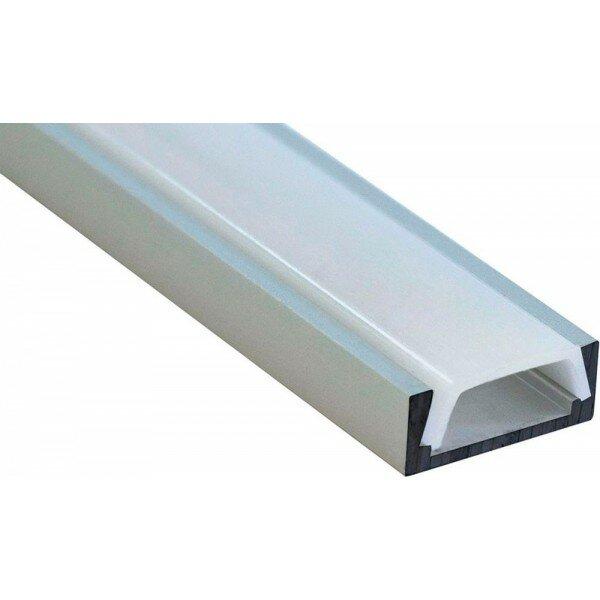 Профиль алюминиевый накладной FERON