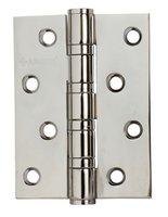 Петля дверная универсальная ARCHIE A010-C 100X70X3-4BB-1HH, бел. никель, 4 ш/подшипника, 1шт