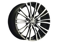 Диск MSW 20/5 8x17/5x100 D63.3 ET35 Matt Black Full Polished - фото 1