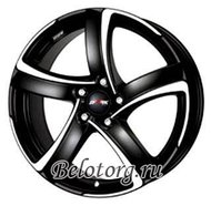 Диск Alutec Shark 8x18/5x114.3 D70.1 ET45 Racing Black Front Polished - фото 1