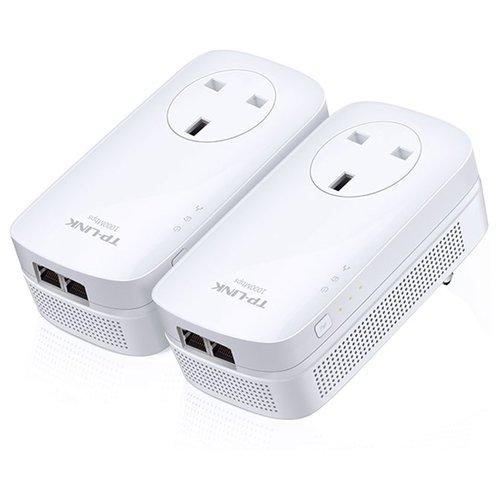 Комплект адаптеров Powerline TP-LINK TL-PA7020P KIT