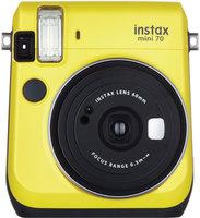 Фотоаппарат моментальной печати Fujifilm Instax Mini 70 (желтый)