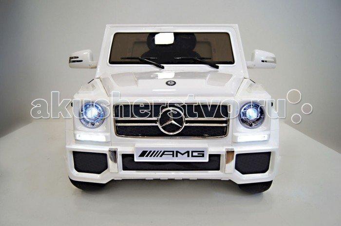 Электромобиль RiverToys Mercedes-Benz G65 Белый