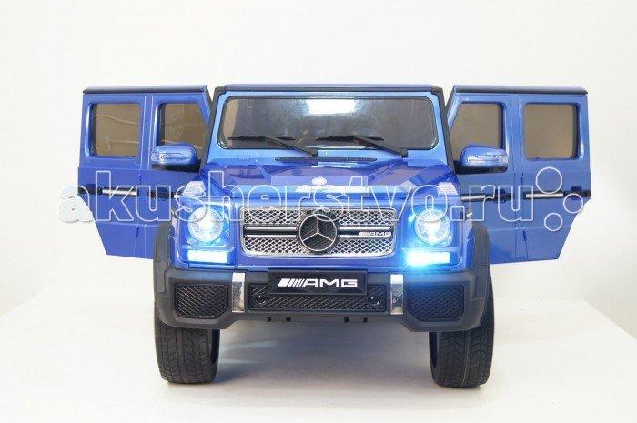 Электромобиль RiverToys Mercedes-Benz G65 Синий глянцевый