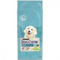Корм сухой DOG CHOW Puppy для щенков до 1 года с ягненком 14 кг