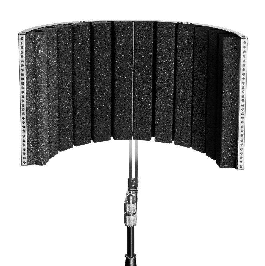 ROXTONE MSS100 Звукопоглощающий экран для микрофона с креплением к стойке, Дуга: 80см., 1шт в коробк