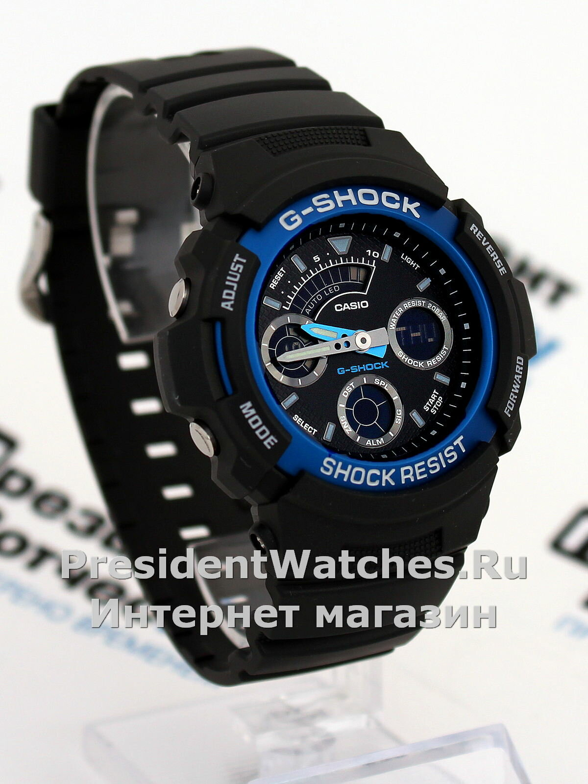Мужские наручные часы Casio G-SHOCK AW-591-2A [AW-591-2AER]