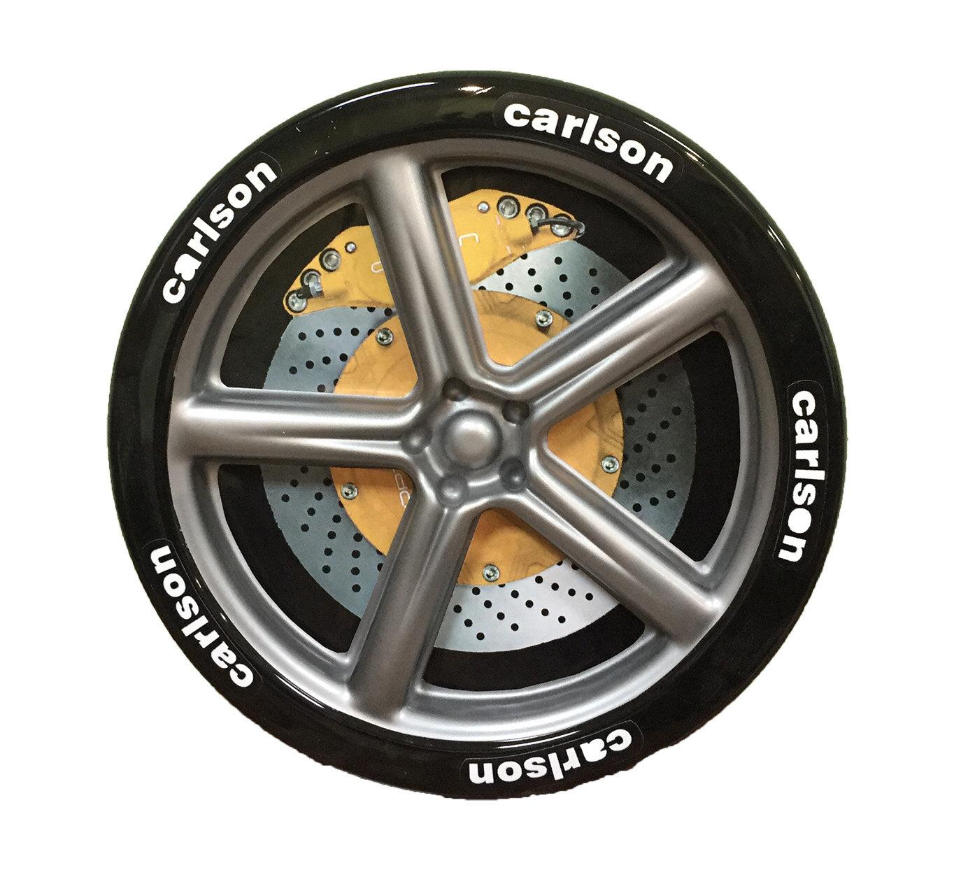 Набор колес Киндер Пластиковые колеса (2 шт.) Черный