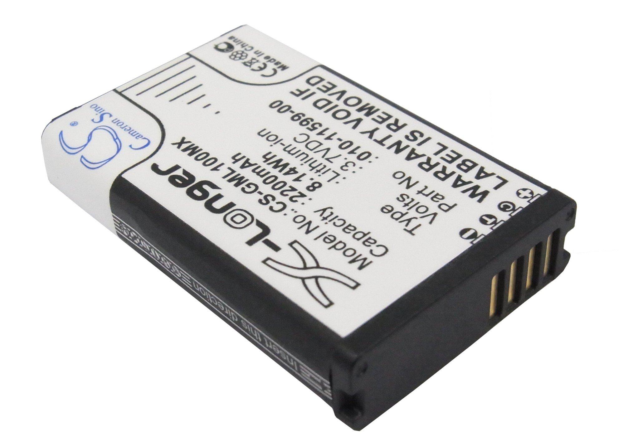 Cameron Sino Аккумулятор для GPS-навигатора Garmin 010-11599-00, 010-11654-03 3,7V 2200mAh код 008.01051