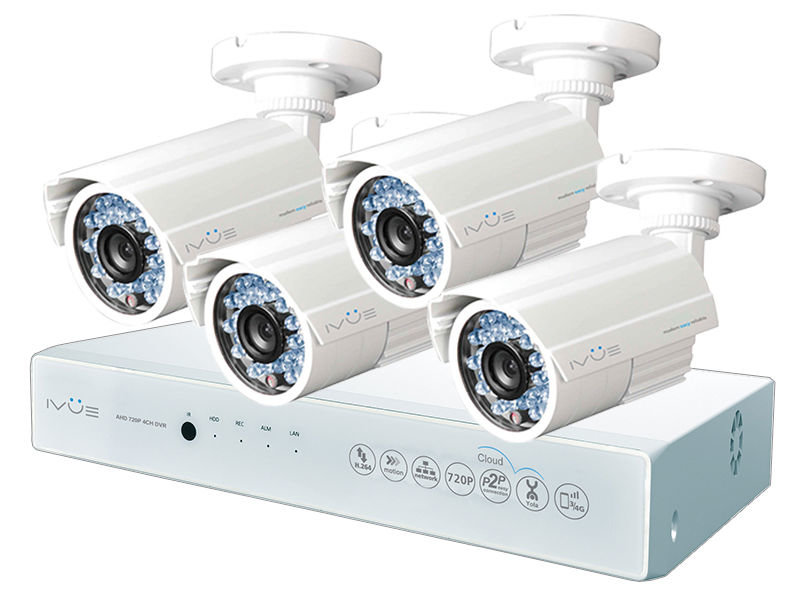 Видеонаблюдение iVUE AHD IVUE-1080P AHC-B4