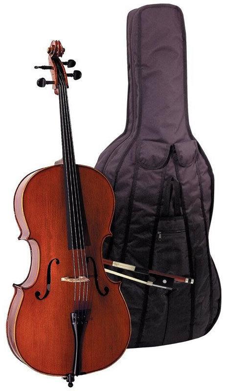 GEWA Pure Cello Outfit EW 3/4 виолончель в комплекте c чехлом, смычком, канифолью