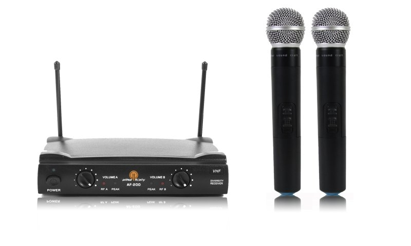 Радиосистема на два микрофона Arthur Forty AF-200