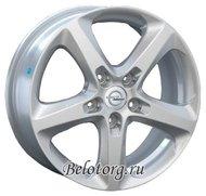Диск Replica OPL24 6.5x16/5x105 D56.6 ET39 Silver - фото 1