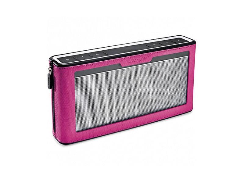 Защитный чехол-бампер для колонки Bose Soundlink III (628173) (Розовый)