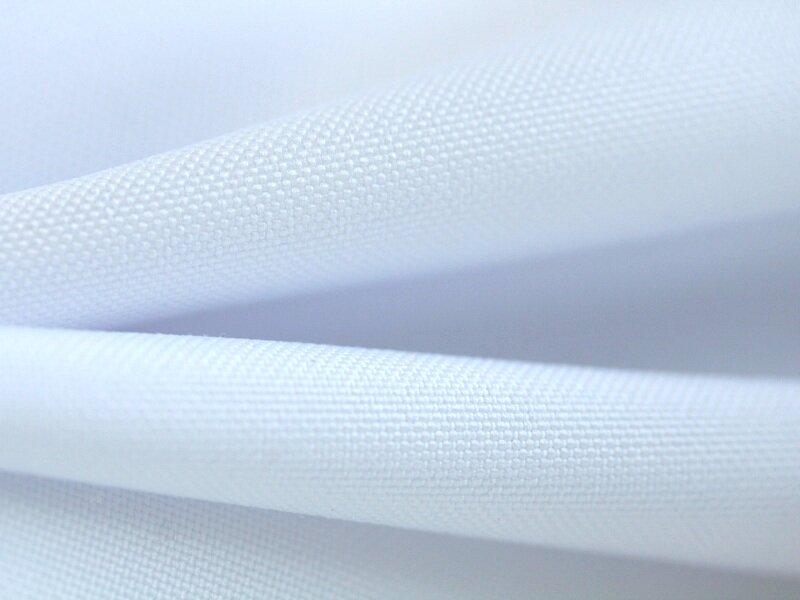 Ткань Текстэль ПолиОксфорд Премиум, Негорючая, Термотрансфер, 271 г/кв.м, 160 см (Белый Аист) (21 пог.м)