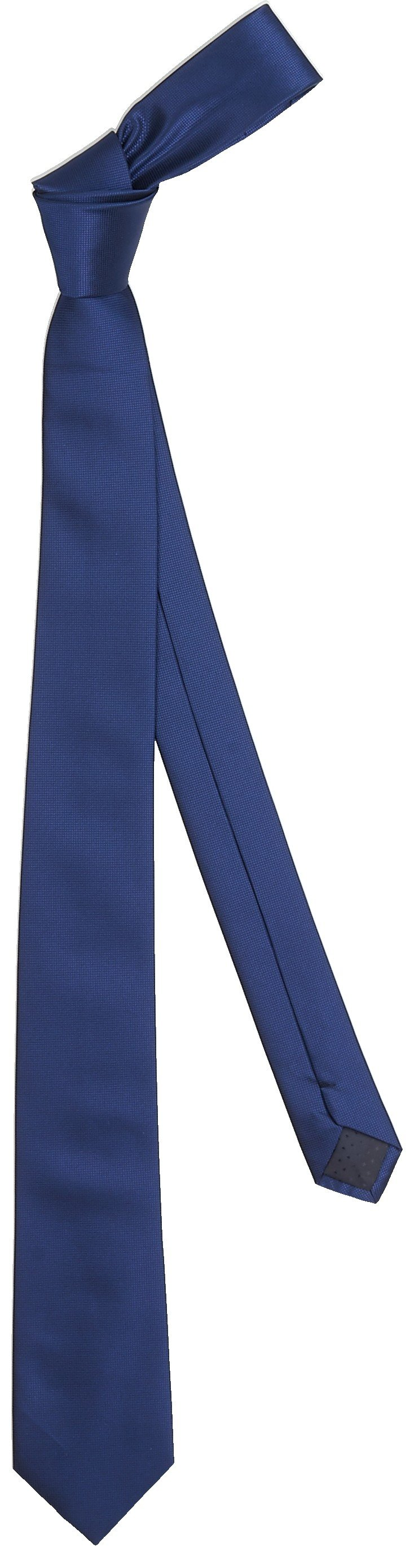 Галстук мужской, 1540x70 мм, тёмно-синий