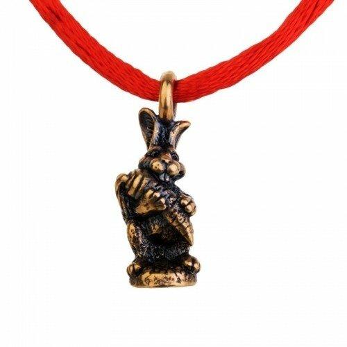 Браслет красная нить - Кролик