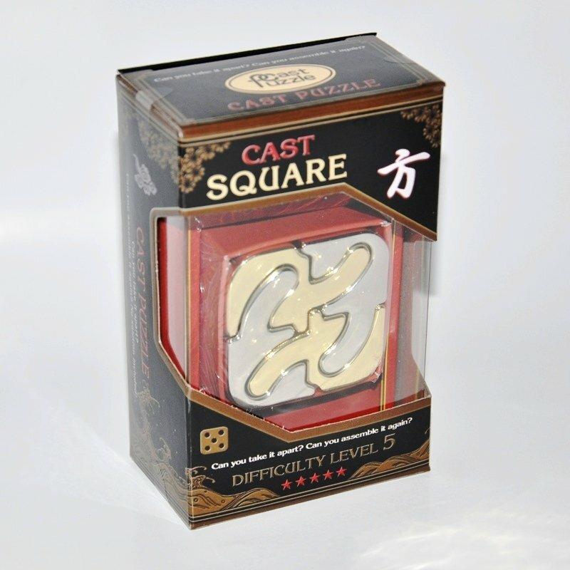 Hanayama (Япония) Головоломка Каре*****/ Cast Puzzle Square*****