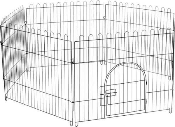 Клетка-вольер Triol Anvin для животных, 6 секций, эмаль