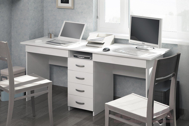 офисный стол чертеж