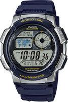 Японские наручные часы Casio Collection AE-1000W-2A с хронографом