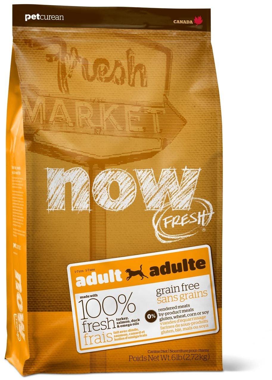 Сухой корм Now Fresh Adult беззерновой с индейкой, уткой и овощами для взрослых собак (11,35 кг, )