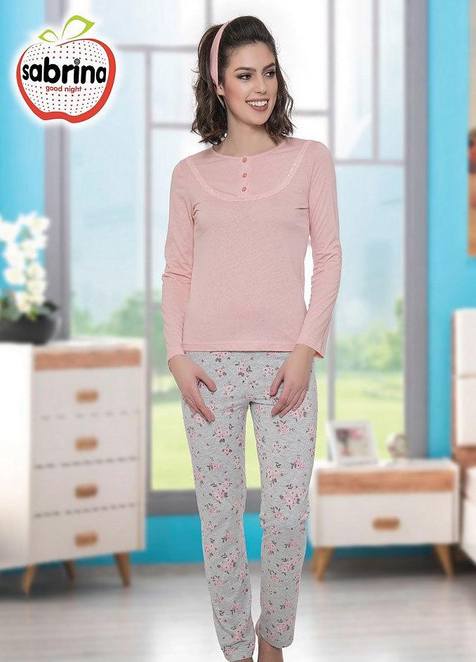 Комплект (кофта + брюки) 41540 Sabrina (персиковый), 52
