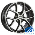 Диски BBS SR 7.5x17 5/108 ET45 d70 Satin Volcano Grey Diamond Cut - фото 1