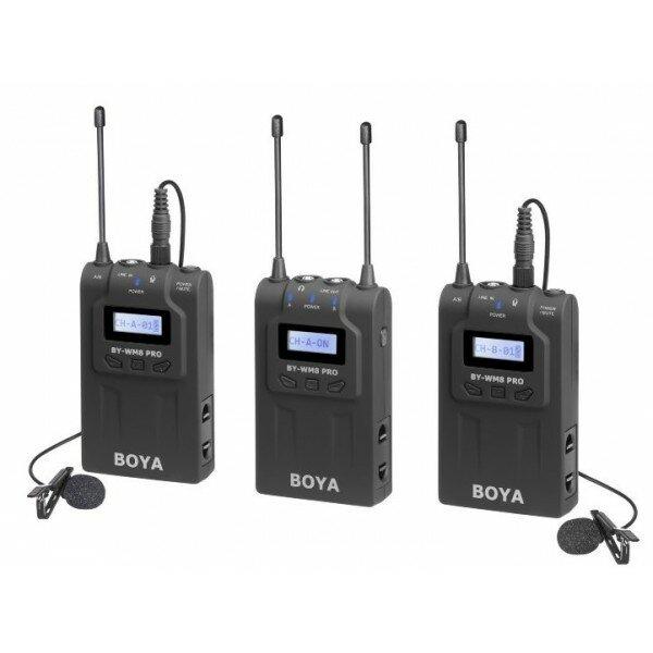 Петличная радиосистема Boya BY-WM8 Pro-K2 двухканальная