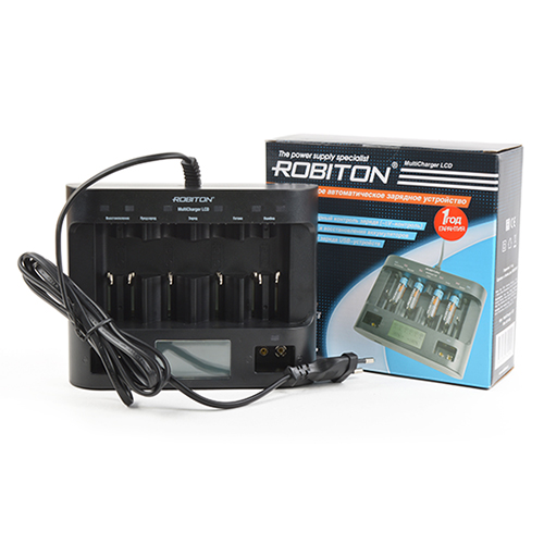 Зарядное устройство ROBITON MultiCharger LCD