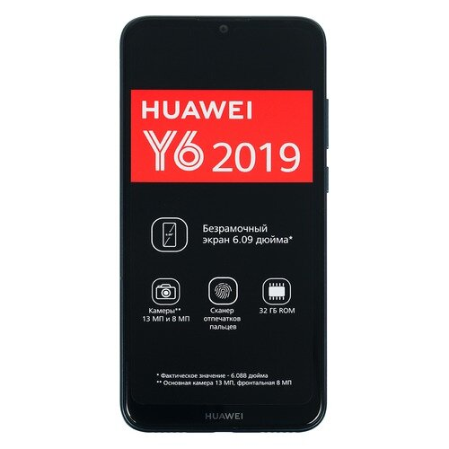 Смартфон HUAWEI Y6 (2019) 32Gb, синий