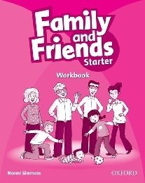 """Naomi Simmons """"Family and Friends Starter Workbook"""""""