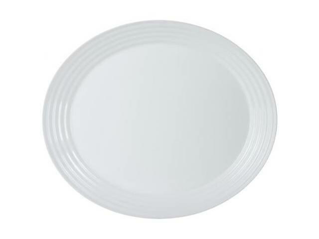 Блюдо 33 см Luminarc Harena White овальное