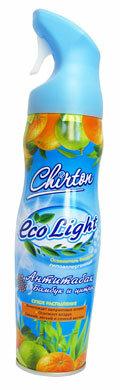 Освежитель воздуха Chirton Eco Light Антитабак. Бамбук и цитрус 280 мл