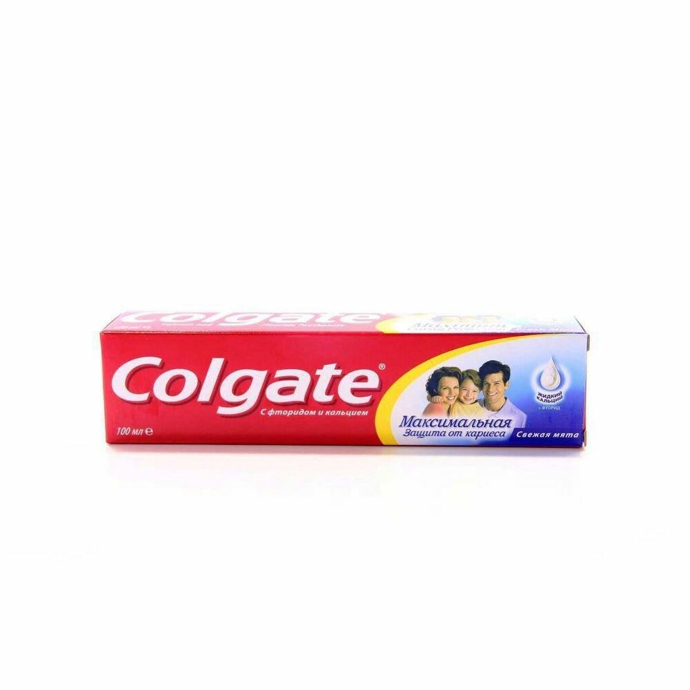 Зубная паста Colgate защита от кариеса свежая мята 100мл