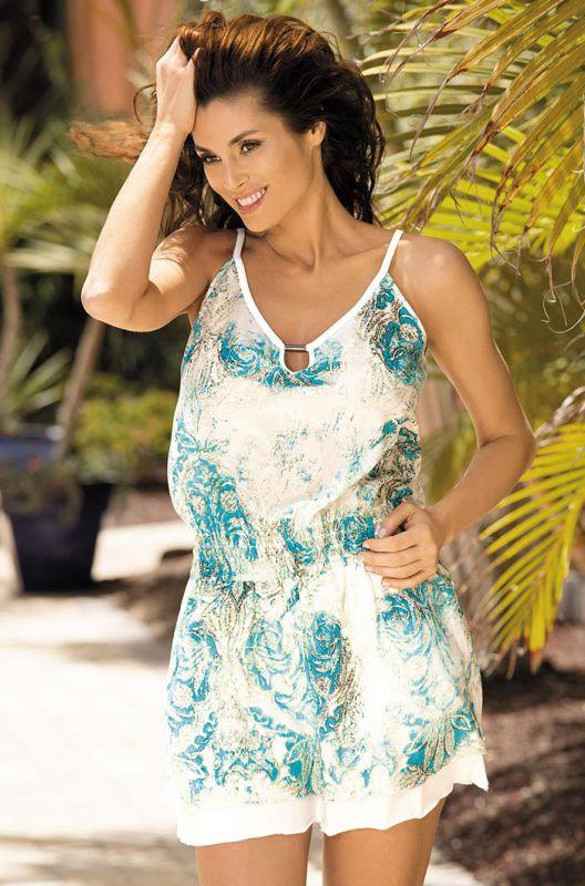 Пляжное хлопковое платье Mia-Mia