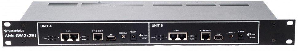 VoIP шлюз Alvis GW-2x2E1-R2-L