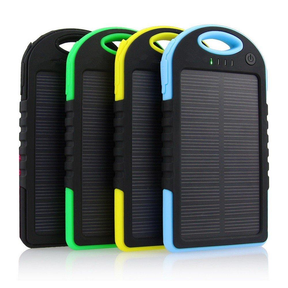 Solar Power Bank 5000 mAh - аккумулятор на солнечной батарее